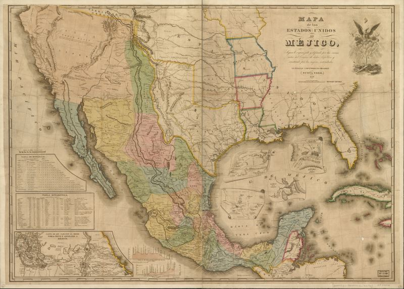 A Destined Conflict The US Mexican War - Battle of san jacinto map us