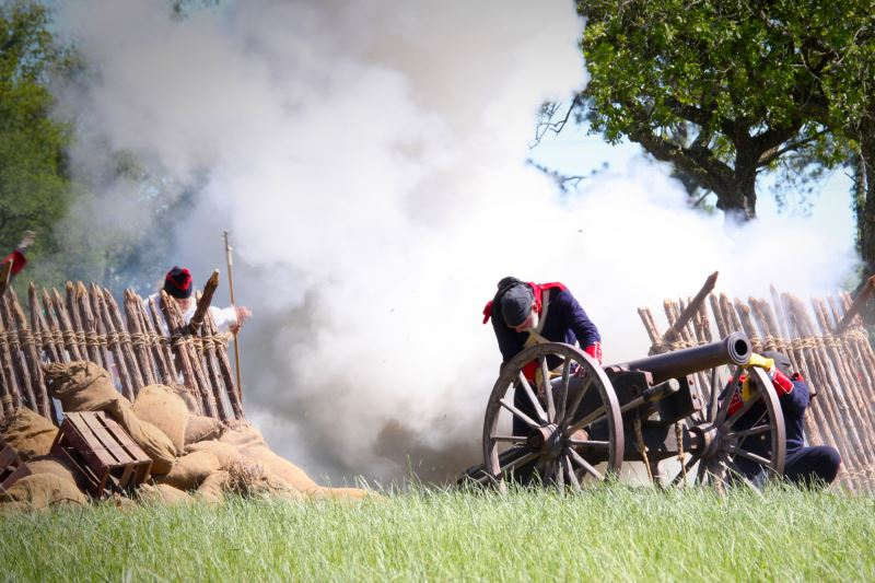 Annual Reenactment of the Battle of San Jacinto last