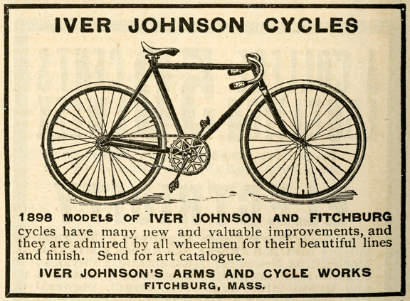 1898 advertisement for bicycles