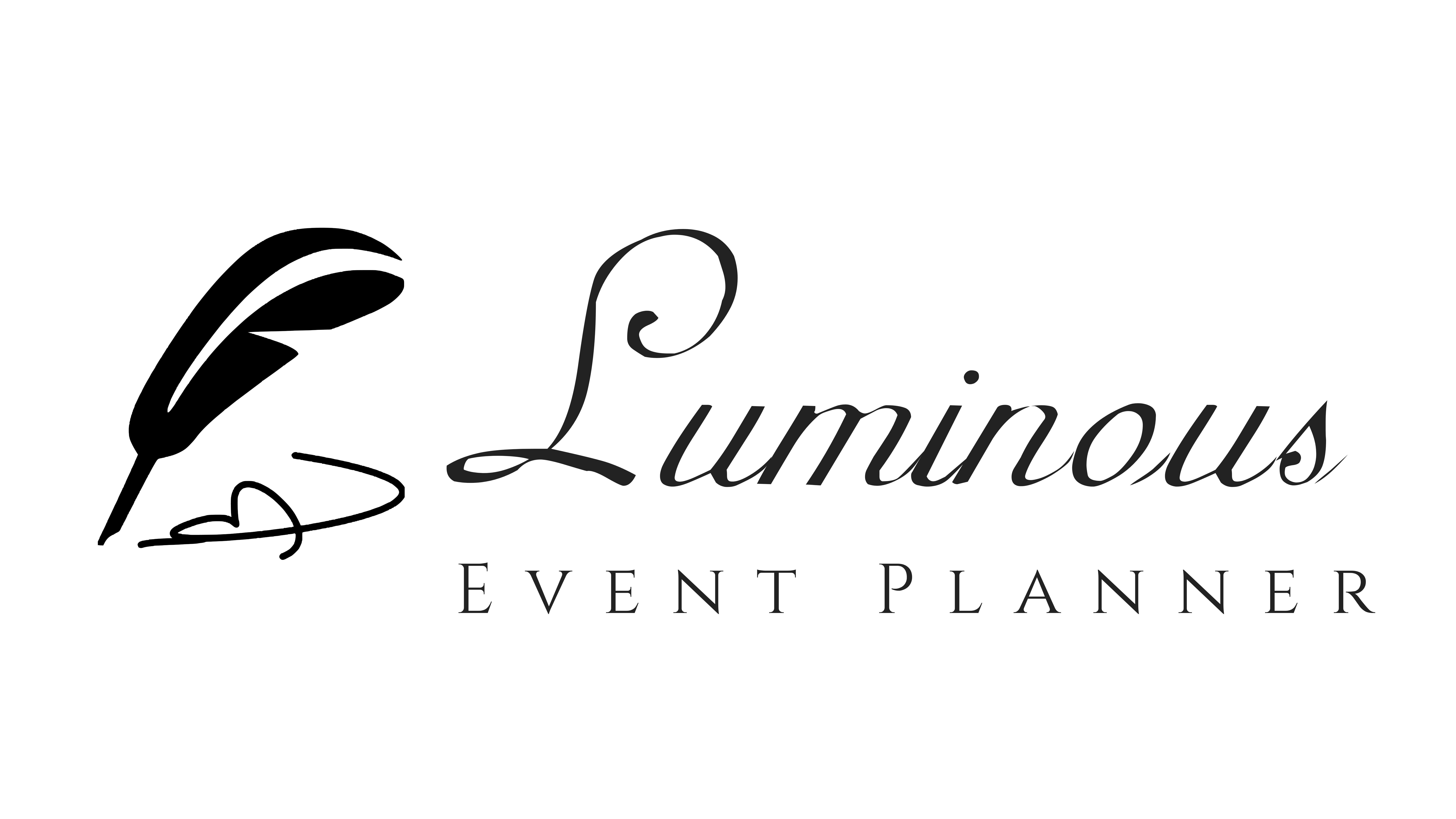 Logo for Luminous Event Planning