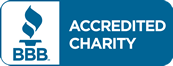 Better Business Bureau Accredited Charity logo