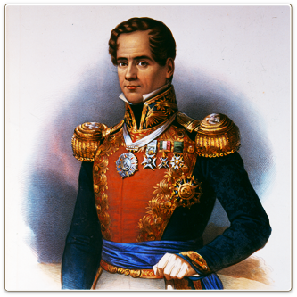 a biography and life work of santa anna a general and president of mexico Assuming the presidency at the depth of the great depression as our 32nd president (1933-1945), franklin d roosevelt  work relief program for  franklin d.